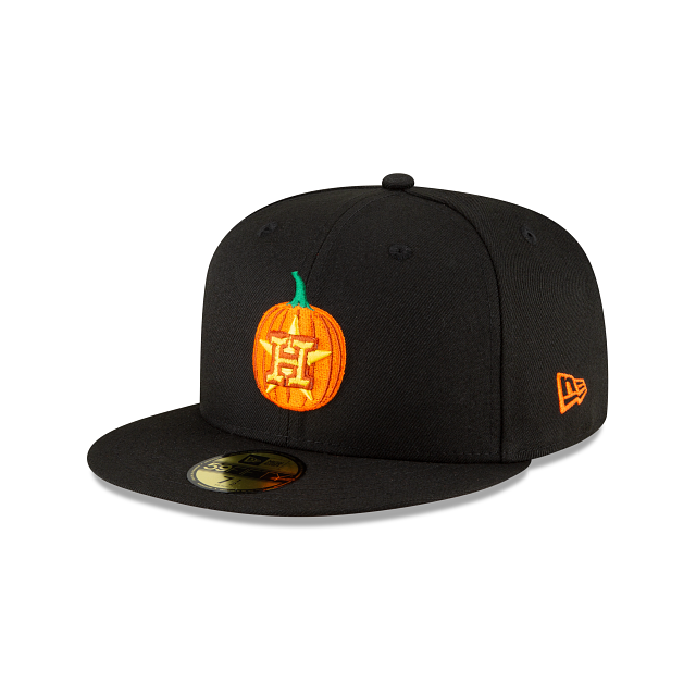 Houston Astros Carved Pumpkins 59FIFTY Fitted | Houston Astros Hats | New Era Cap