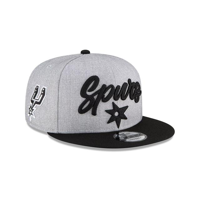 San Antonio Spurs Official NBA Draft 9FIFTY Snapback | San Antonio Spurs Hats | New Era Cap