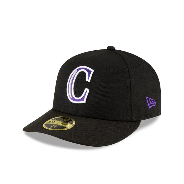 Colorado Rockies Ligature Low Profile 59FIFTY Fittted | Colorado Rockies Hats | New Era Cap