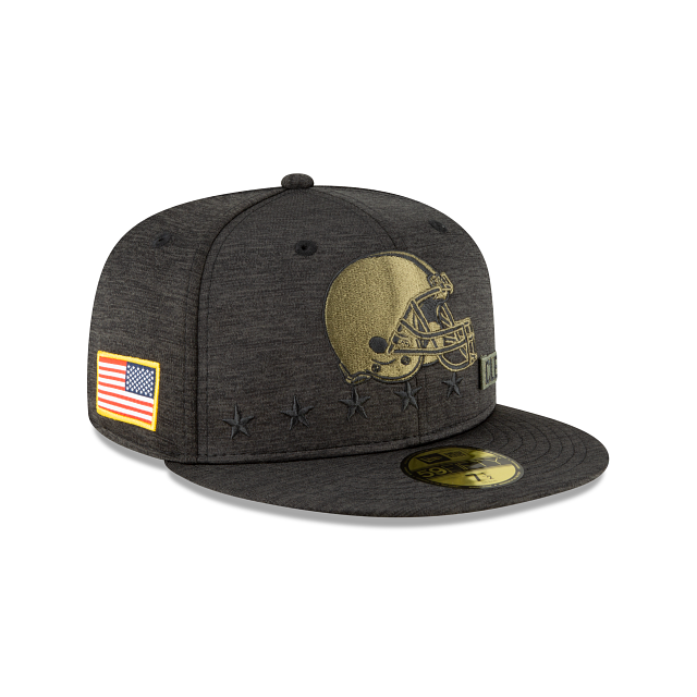 Cleveland Browns Salute To Service 59FIFTY Fitted | Cleveland Browns Hats | New Era Cap