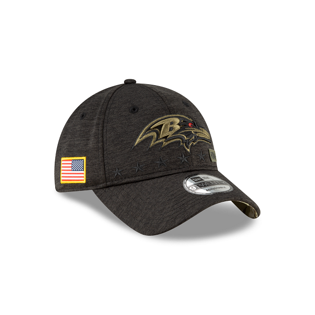 Baltimore Ravens Salute To Service 9TWENTY Adjustable   Baltimore Ravens Hats   New Era Cap