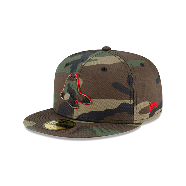 Boston Red Sox Forest Pop 59FIFTY Fitted | Boston Red Sox Hats | New Era Cap