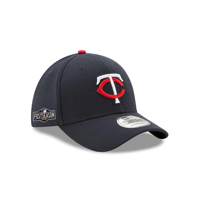 Minnesota Twins Postseason Side Patch 39THIRTY Stretch Fit | Minnesota Twins Hats | New Era Cap