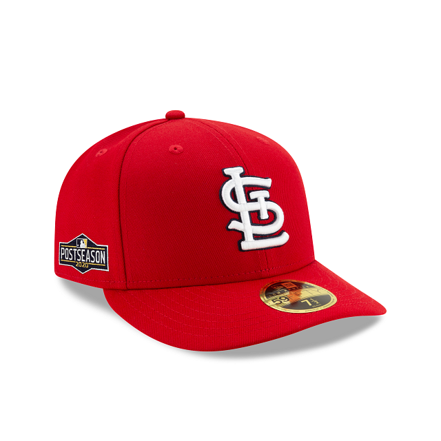 St. Louis Cardinals Postseason Side Patch Low Profile 59FIFTY Fitted | St. Louis Cardinals Hats | New Era Cap