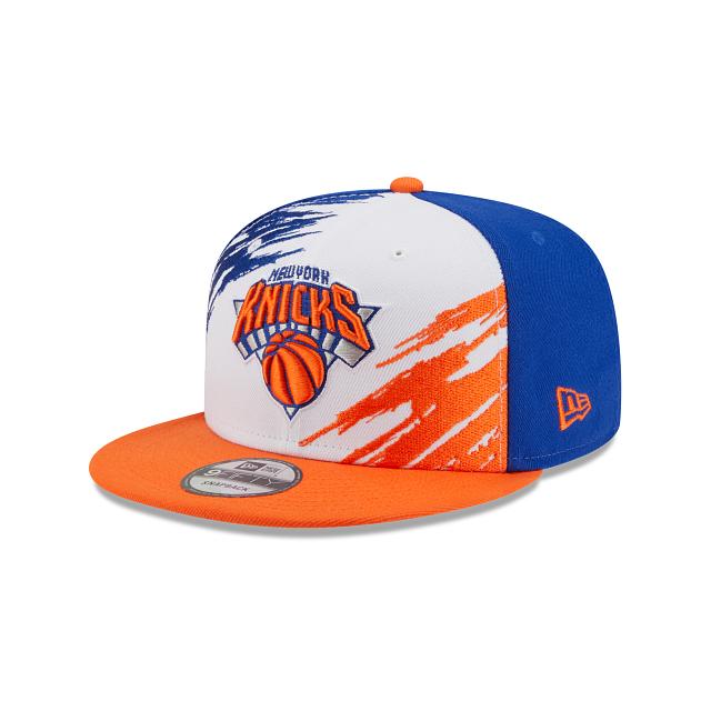 New York Knicks Splatter 9FIFTY Snapback | New York Knicks Hats | New Era Cap