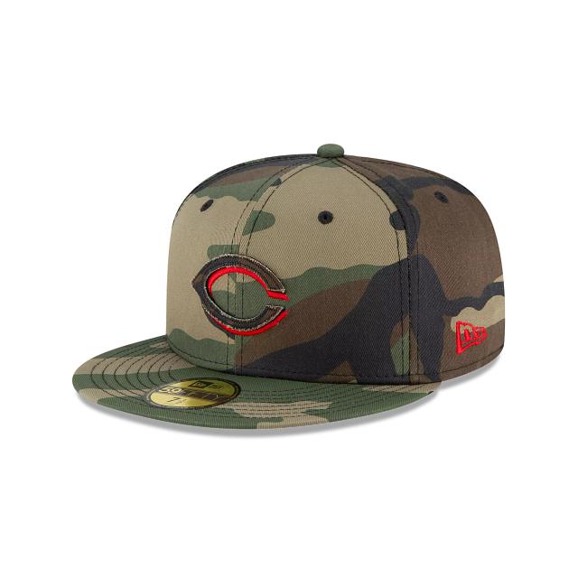 Cincinnati Reds Forest Pop 59FIFTY Fitted | Cincinnati Reds Hats | New Era Cap