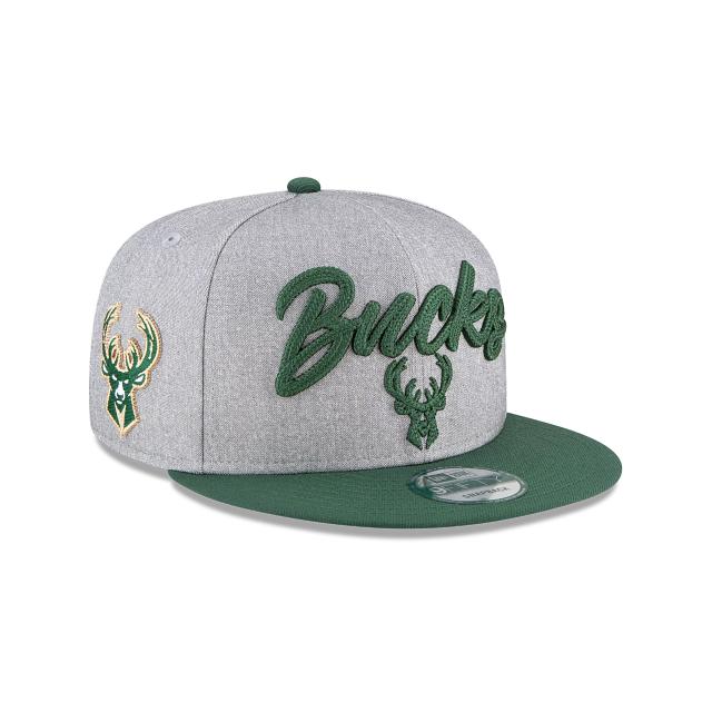 Milwaukee Bucks Official NBA Draft 9FIFTY Snapback | Milwaukee Bucks Hats | New Era Cap
