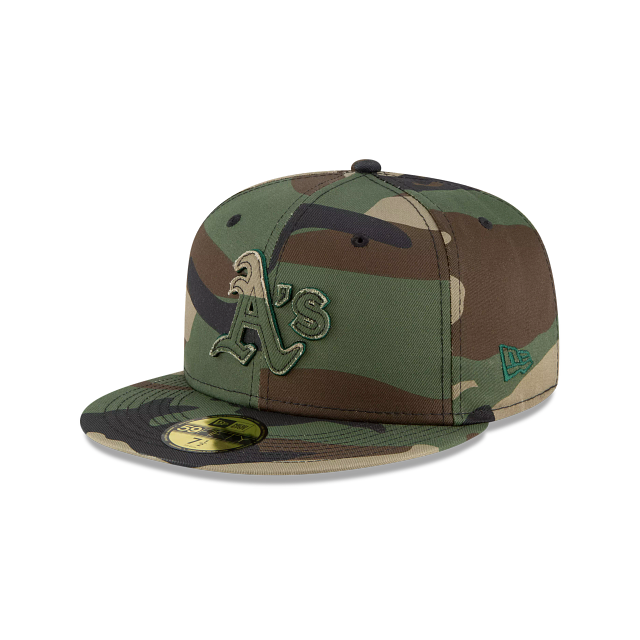 Oakland Athletics Forest Pop 59FIFTY Fitted | Oakland Athletics Hats | New Era Cap