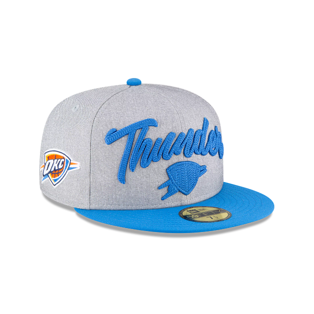 Oklahoma City Thunder NBA Draft 59FIFTY Fitted | Oklahoma City Thunder Hats | New Era Cap