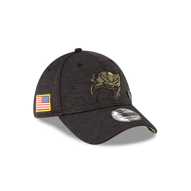 Tampa Bay Buccaneers Salute To Service 39THIRTY Stretch Fit | Tampa Bay Buccaneers Hats | New Era Cap