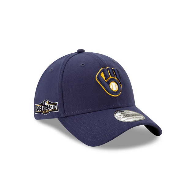 Milwaukee Brewers Postseason Side Patch 39THIRTY Stretch Fit | Milwaukee Brewers Hats | New Era Cap