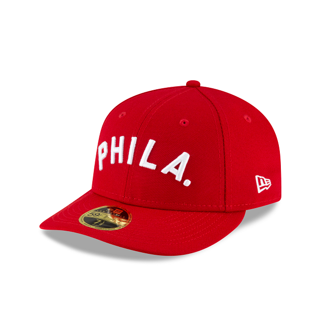 Philadelphia Phillies Ligature Low Profile 59FIFTY Fittted | Philadelphia Phillies Hats | New Era Cap