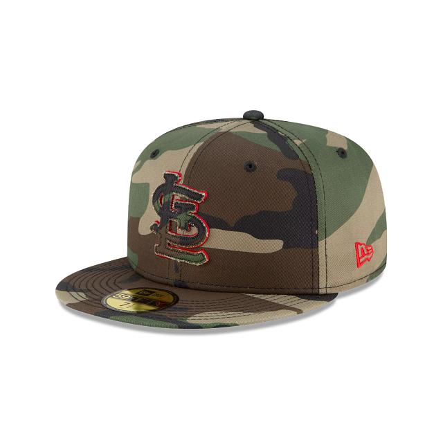 St. Louis Cardinals Forest Pop 59FIFTY Fitted   St. Louis Cardinals Hats   New Era Cap
