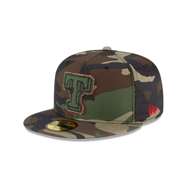 Texas Rangers Forest Pop 59FIFTY Fitted | Texas Rangers Hats | New Era Cap