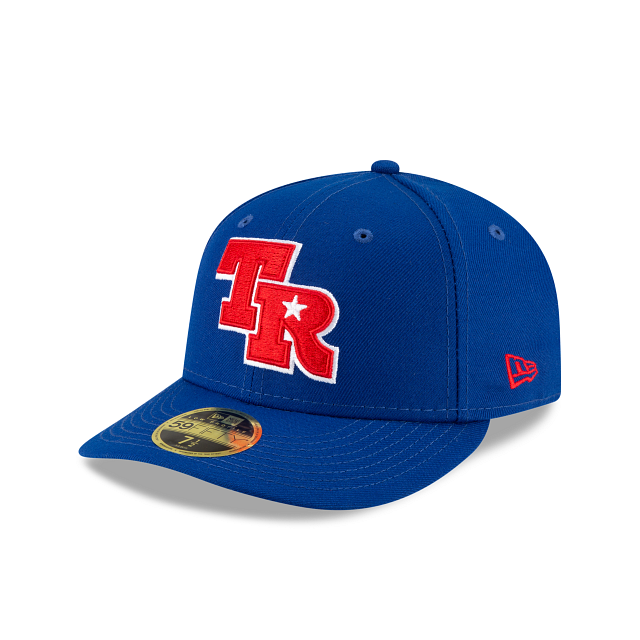 Texas Rangers Ligature Low Profile 59FIFTY Fittted | Texas Rangers Hats | New Era Cap