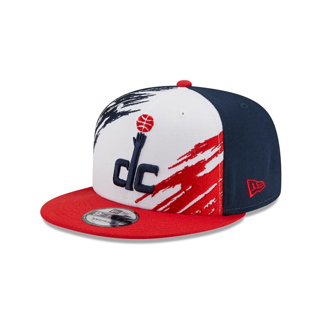Washington Wizards Splatter 9FIFTY Snapback   Washington Wizards Hats   New Era Cap