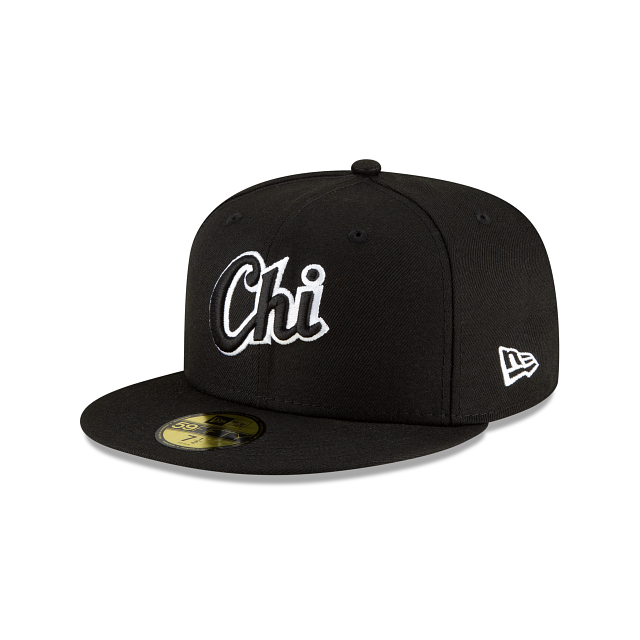 Chicago White Sox Ligature 59FIFTY Fitted | Chicago White Sox Hats | New Era Cap