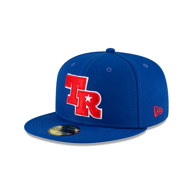 Texas Rangers Ligature 59FIFTY Fitted | Texas Rangers Hats | New Era Cap