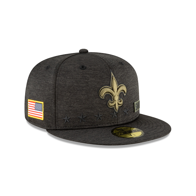 New Orleans Saints Salute To Service 59FIFTY Fitted | New Orleans Saints Hats | New Era Cap