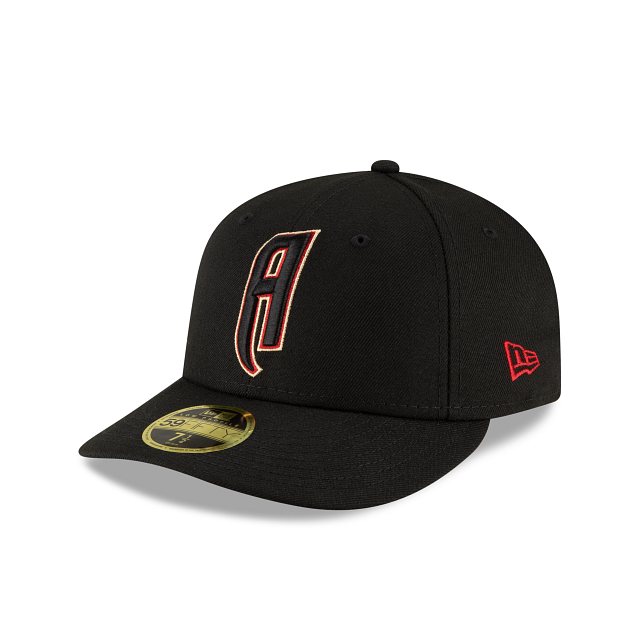 Arizona Diamondbacks Ligature Low Profile 59FIFTY Fittted | Arizona Diamondbacks Hats | New Era Cap