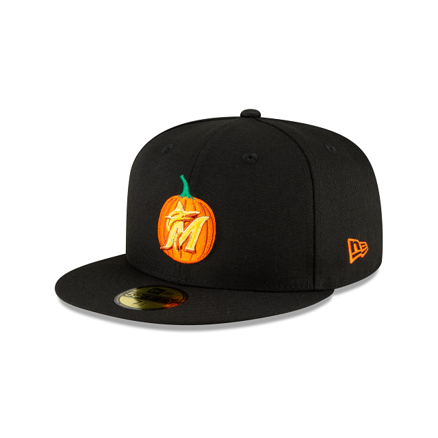 Miami Marlins Carved Pumpkins 59FIFTY Fitted | Miami Marlins Hats | New Era Cap