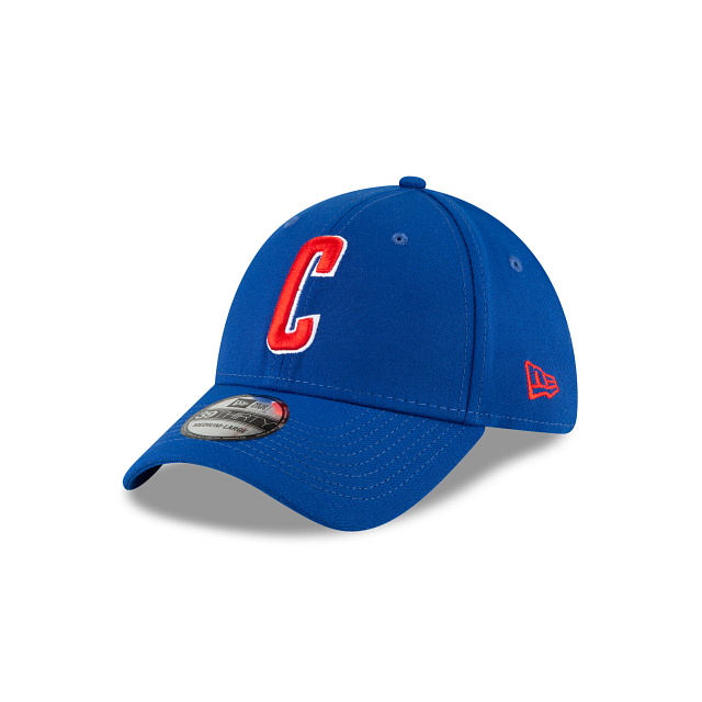 Chicago Cubs Ligature 39THIRTY Stretch Fit   Chicago Cubs Hats   New Era Cap