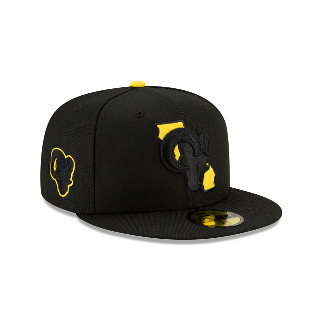 Los Angeles Rams State Logo Reflect 59FIFTY Fitted | Los Angeles Rams Hats | New Era Cap