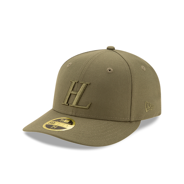 Helmut Lang Olive Low Profile 59FIFTY Fitted | Helmut Lang X New Era Hats | New Era Cap