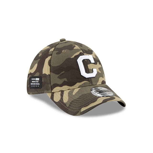 Cleveland Indians Armed Forces Weekend 39THIRTY Stretch Fit | Cleveland Indians Hats | New Era Cap