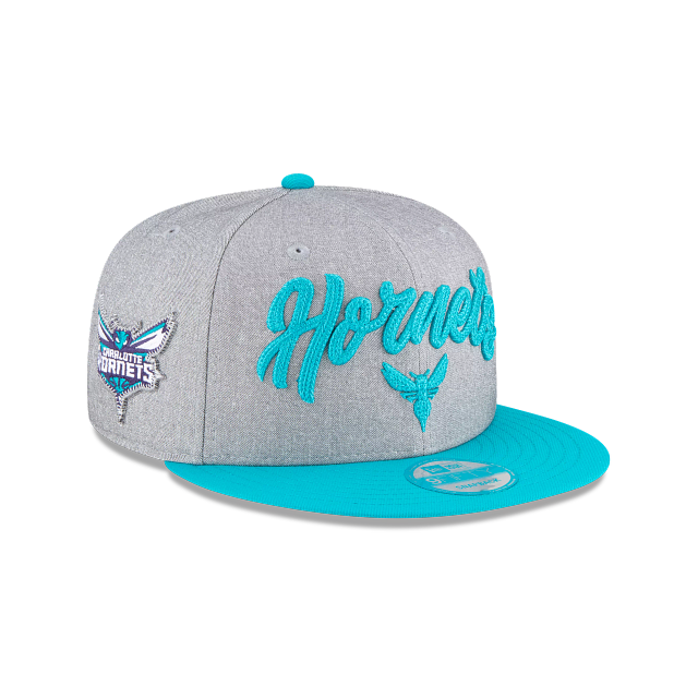 Charlotte Hornets Official NBA Draft 9FIFTY Snapback | Charlotte Hornets Hats | New Era Cap