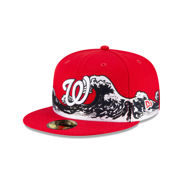 Washington Nationals Wave 59FIFTY Fitted | Washington Nationals Hats | New Era Cap