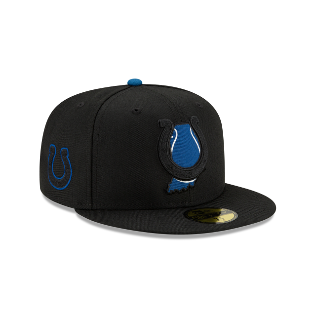 Indianapolis Colts State Logo Reflect 59FIFTY Fitted | Indianapolis Colts Hats | New Era Cap
