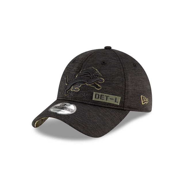 Detroit Lions Salute To Service 9TWENTY Adjustable | Detroit Lions Hats | New Era Cap