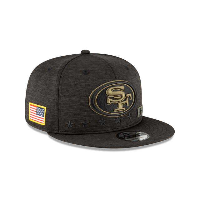 San Francisco 49ers Salute To Service 9FIFTY Snapback | San Francisco 49ers Hats | New Era Cap