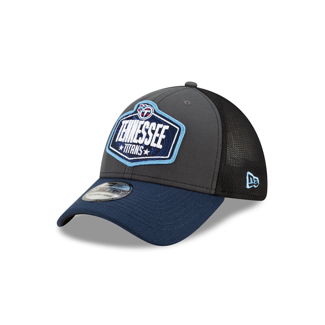Tennessee Titans NFL Draft 39THIRTY Stretch Fit | Tennessee Titans Hats | New Era Cap