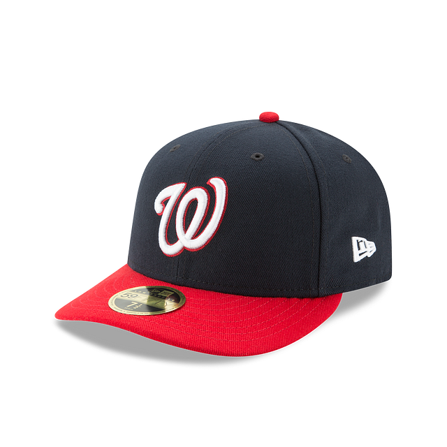 Washington Nationals Authentic Collection Low Profile 59FIFTY | Washington Nationals Hats | New Era Cap