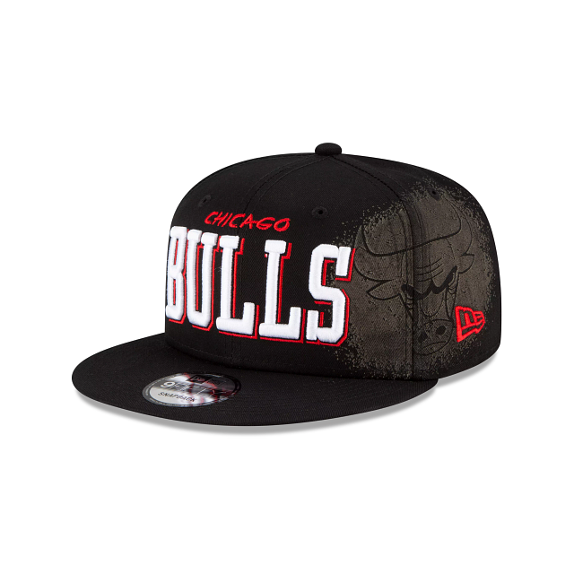 Chicago Bulls Faded 9FIFTY Snapback | Chicago Bulls Hats | New Era Cap