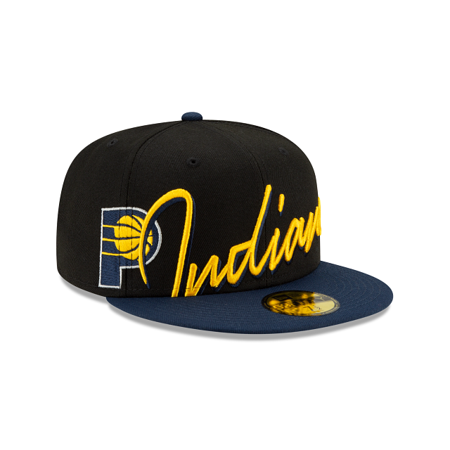 Indiana Pacers Cursive 59FIFTY Fitted | Indiana Pacers Hats | New Era Cap