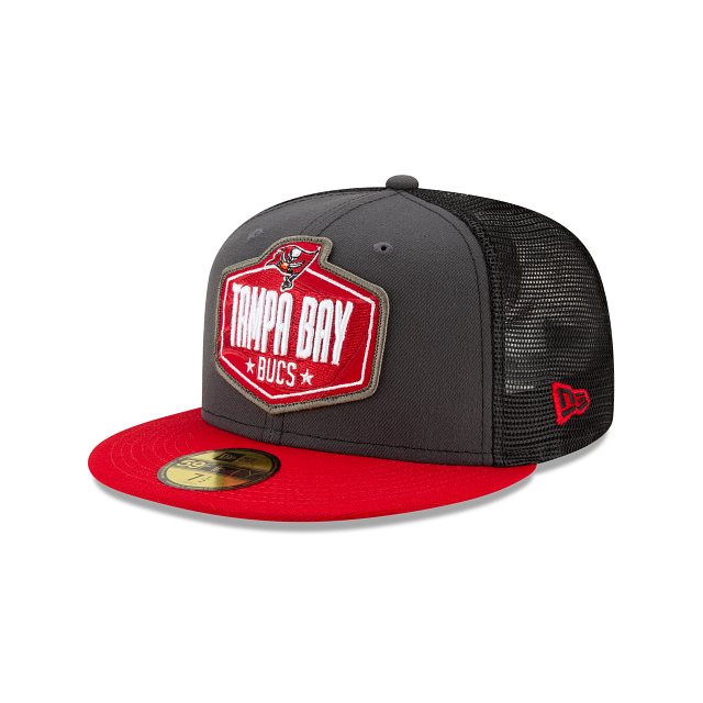 Tampa Bay Buccaneers NFL Draft 59FIFTY Fitted | Tampa Bay Buccaneers Hats | New Era Cap
