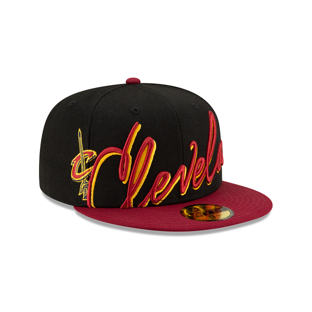 Cleveland Cavaliers Cursive 59FIFTY Fitted | Cleveland Cavaliers Hats | New Era Cap