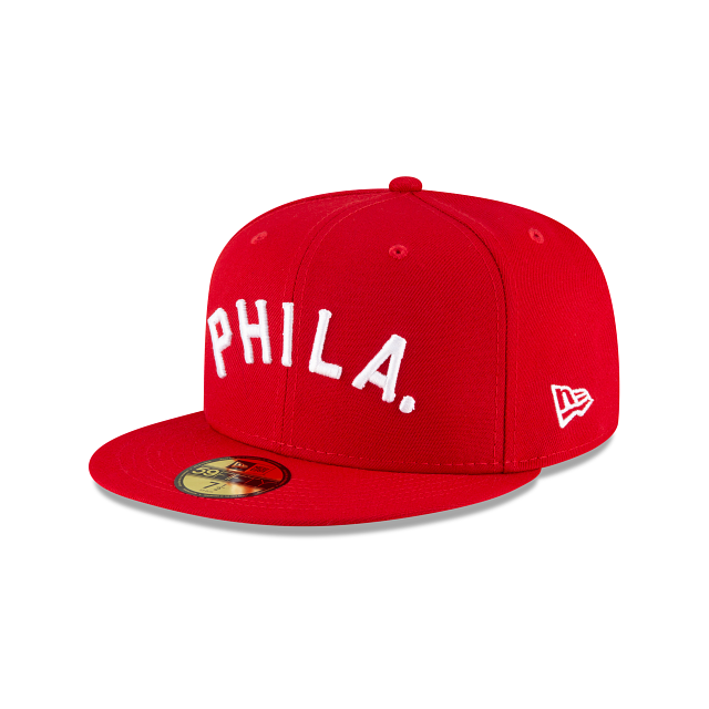 Philadelphia Phillies Ligature 59FIFTY Fitted | Philadelphia Phillies Hats | New Era Cap