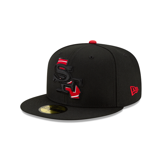 San Francisco 49ers State Logo Reflect 59FIFTY Fitted | San Francisco 49ers Hats | New Era Cap