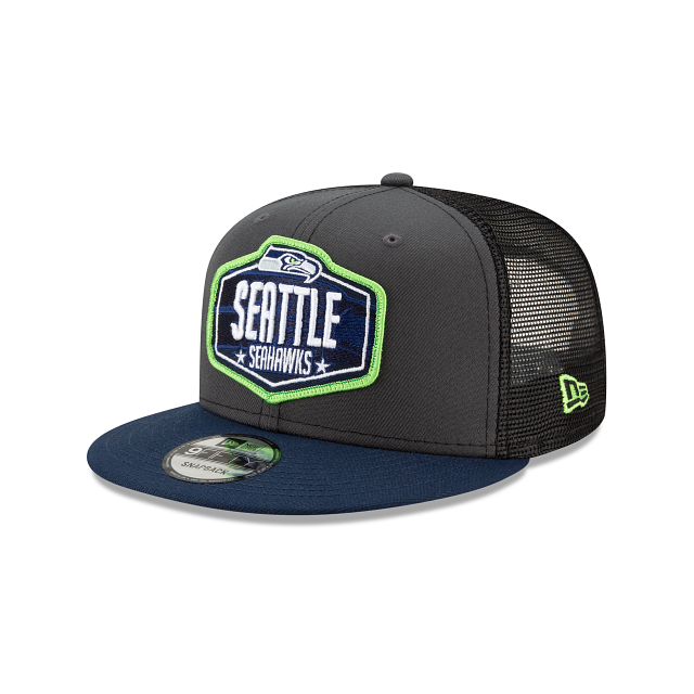 Seattle Seahawks NFL Draft 9FIFTY Snapback | Seattle Seahawks Hats | New Era Cap