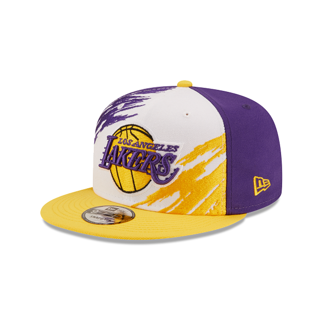 Los Angeles Lakers Splatter 9FIFTY Snapback | Los Angeles Lakers Hats | New Era Cap