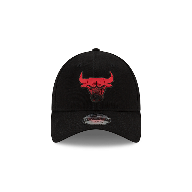 Chicago Bulls Back HaLF 9TWENTY Adjustable | Chicago Bulls Hats | New Era Cap