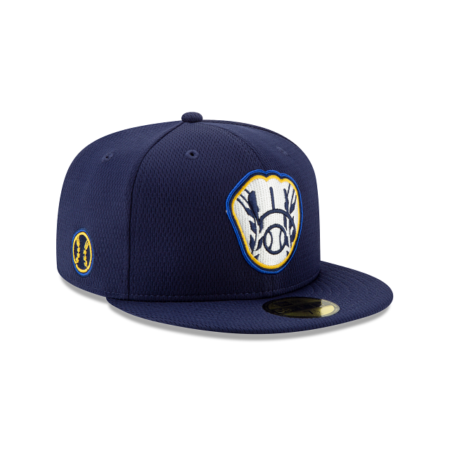 Milwaukee Brewers 2021 Spring Training 59FIFTY Fitted | Milwaukee Brewers Hats | New Era Cap