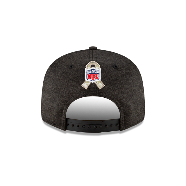 Las Vegas Raiders Salute To Service 9FIFTY Snapback | Las Vegas Raiders Hats | New Era Cap