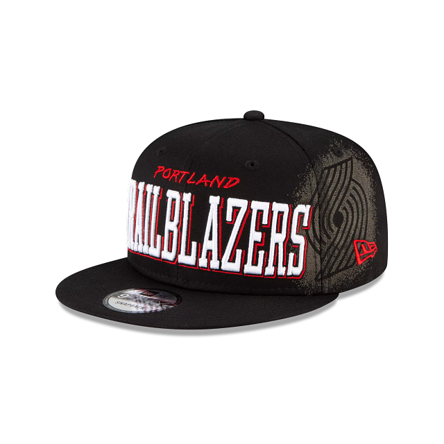 Portland Trail Blazers Faded 9FIFTY Snapback | Portland Trail Blazers Hats | New Era Cap