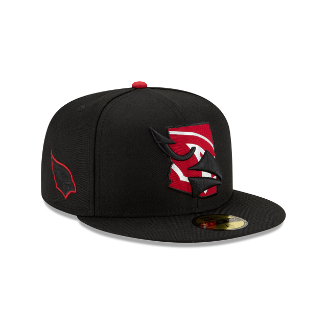 Arizona Cardinals State Logo Reflect 59FIFTY Fitted | Arizona Cardinals Hats | New Era Cap