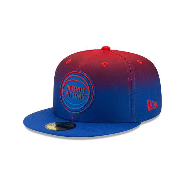 Detroit Pistons Back HaLF 59FIFTY Fitted | Detroit Pistons Hats | New Era Cap